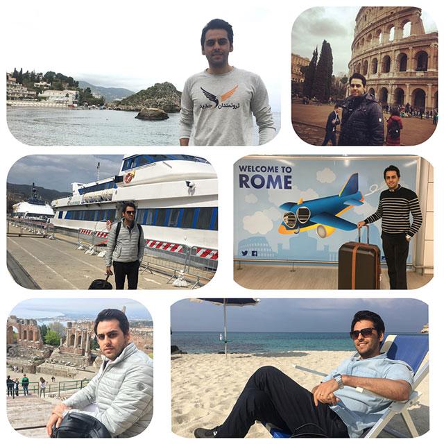 سفرهای اروپایی من